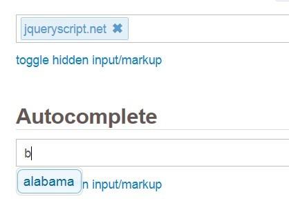 jQuery and jQuery UI Based Input Element Enhancement - Input-O-Saurus Text
