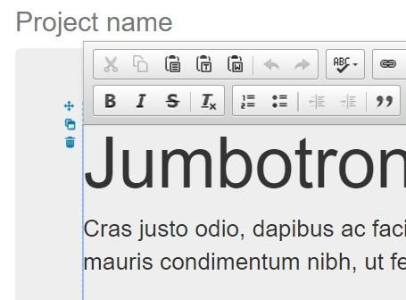 jQuery & jQuery UI Plugin For Html Content Editing - Momonga.js