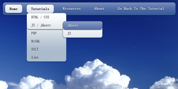 Smooth jQuery Dropdown Navigation Menu With CSS3
