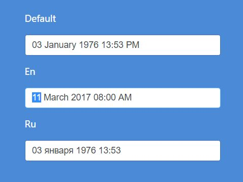 Keyboard Driven Date & Time Input Plugin With jQuery - datetime.js