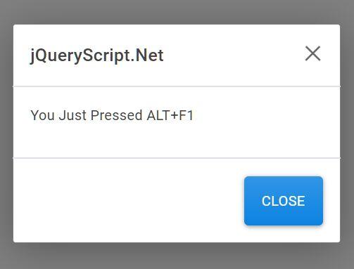 Keyboard Shortcut Handling Plugin - jQuery ShortcutKeys