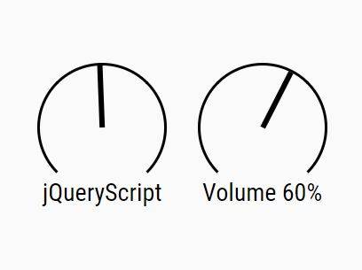 Minimalist Knob Control With jQuery And CSS3 - jsRapKnob