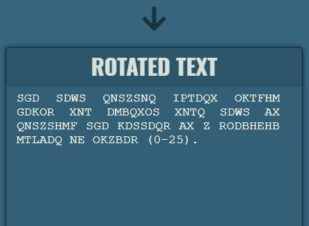 ROT13 Inspired Letter Substitution Cipher - jQuery Text Rotator