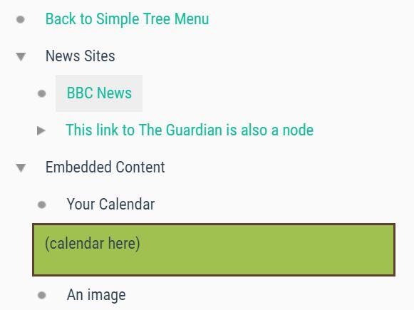 macOS Finder Like Tree View Plugin - jQuery simpleTreeMenu