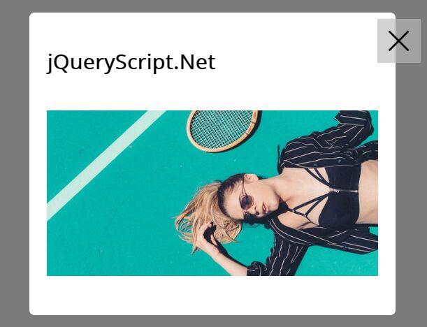 Full-featured Modal Popup Plugin - jQuery iBox