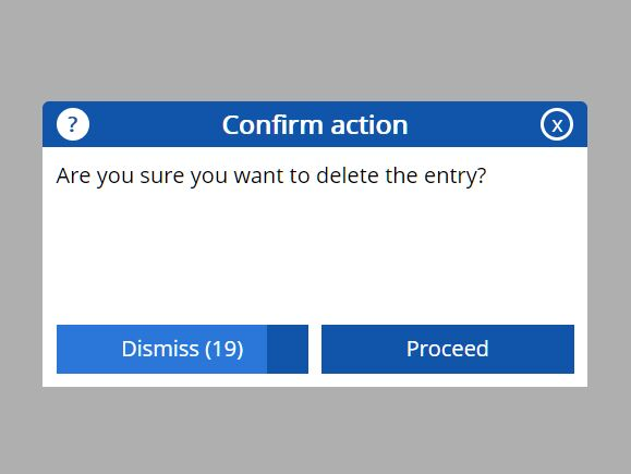Handy Info/Confirm Modal Dialog Plugin - Timed Dialog