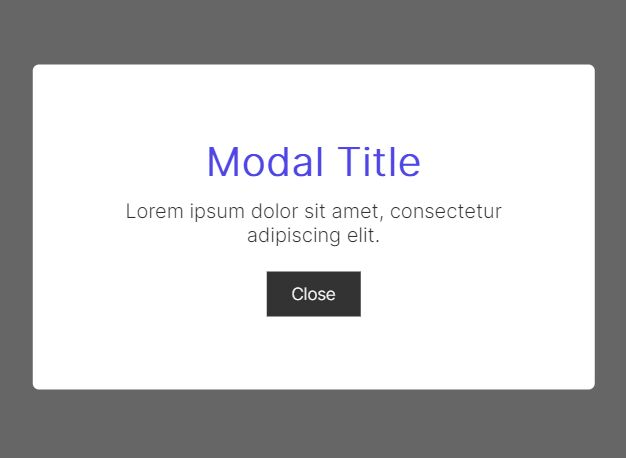 Easy Modal Window In jQuery & Vanilla JavaScript