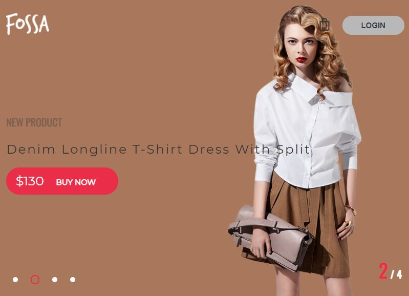 Modern Fullpage Product Slider With jQuery And CSS3