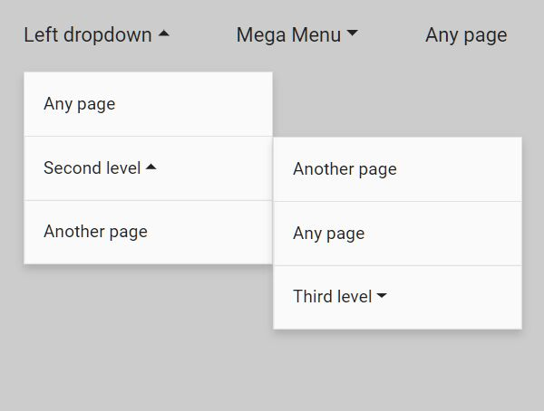 Cross-platform Multi-level Dropdown Menu - jQuery Vegas Nav