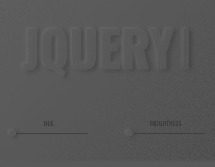 Neumorphic Style Text Generator With jQuery