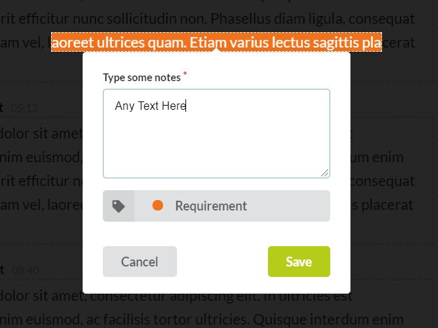 Annotating Texts and Notetaking With jQuery - Annotator