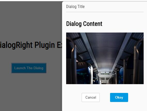 Sliding Off-canvas Dialog Plugin - jQuery dialogRight