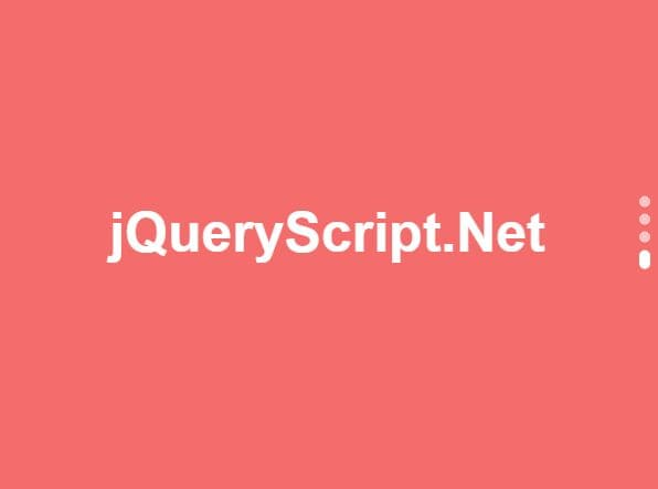 Horizontal & Vertical One Page Scroll Plugin - jQuery fsscroll