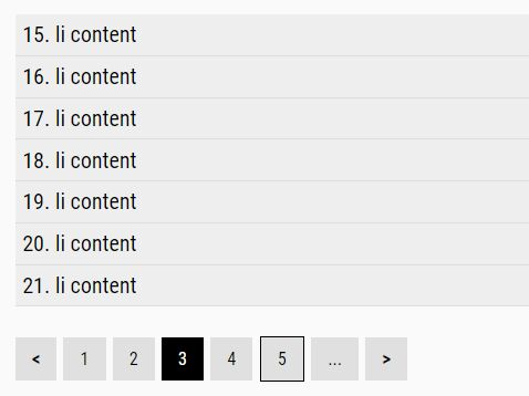 Paginate A Large List Using jQuery Paging Plugin