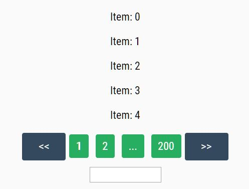jQuery Plugin For Pagination On Dynamic Data - jqPaginator.js