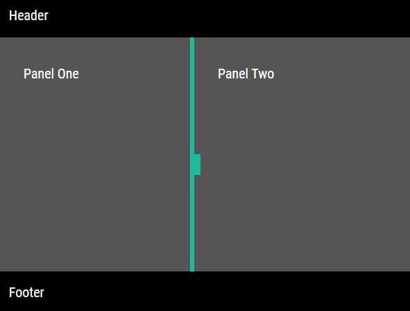 Easy Layout Splitter/Resizer For Developer - pane-slider