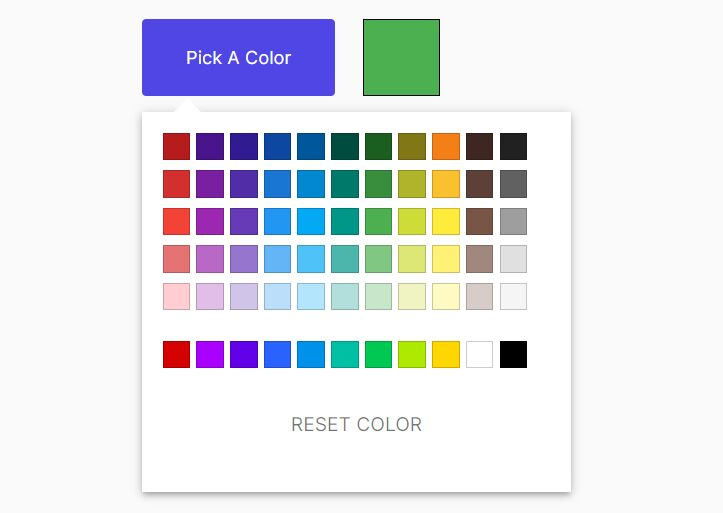 Pick Colors From A Predefined Palette - jQuery choose-color.js