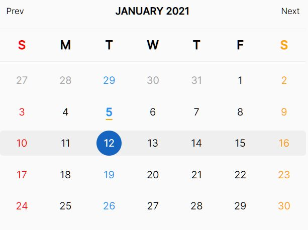 Powerful Calendar Plugin With jQuery - Calendar.js