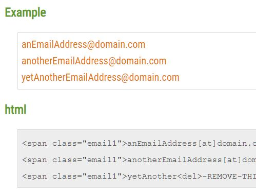 Protect Email Address In Source Code - jQuery mailIt