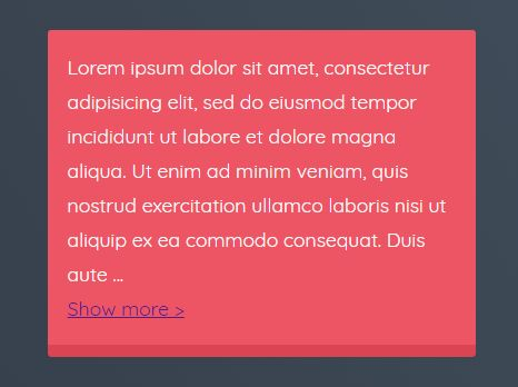 Read More/Less Content Toggle Plugin For jQuery