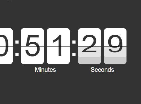Simple Countdown Timer Plugin With jQuery - simple timer js