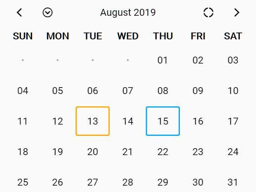 Pretty Responsive Calendar In jQuery - Nao Calendar