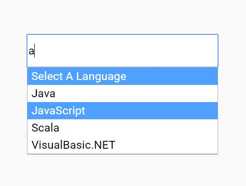 Select Box With Searchable Options - jQuery Searchbox