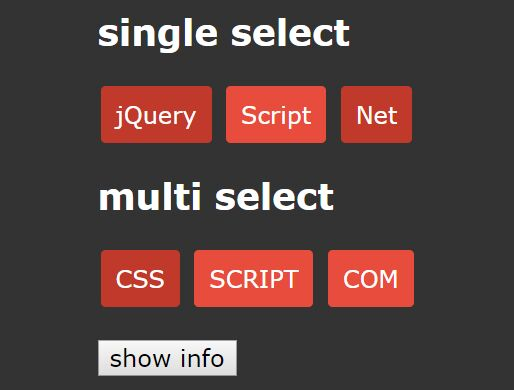 Single/Multiple Tag Selector Plugin With jQuery - tag_selector.js