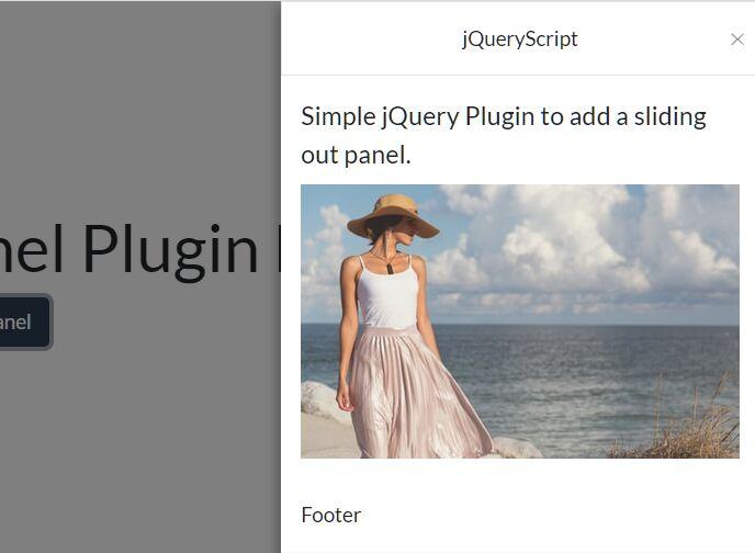 Multipurpose Sidebar Drawer Plugin - SlideOutPanel