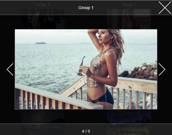 Slider-style Fullsreen Image Viewer - jQuery da_pro_gallery