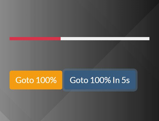 Slim Programmable Progress Bar Plugin - jQuery ProBar