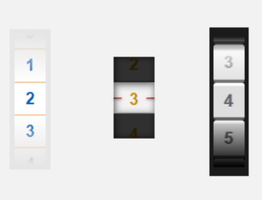 Slot-Machine Style Number & Option Picker In jQuery - Drum.js