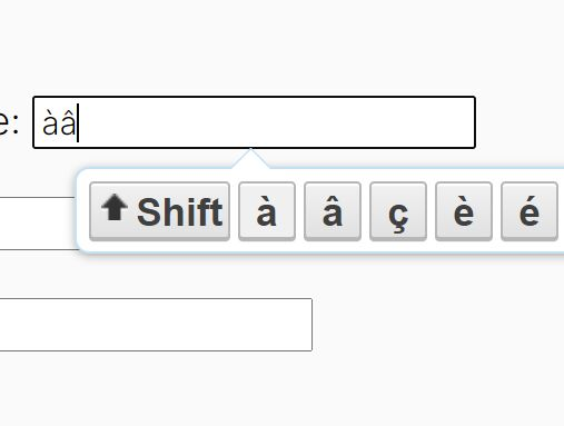 Special Character Input Plugin With jQuery - specialinput.js