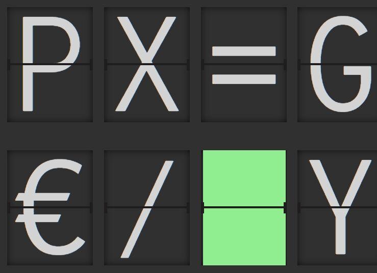 Split Flap Style Text Display Plugin - jQuery Fallblatt