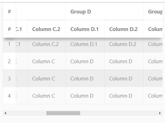 jQuery Plugin For Sticky Table Headers And Columns - RWD Freeze Table