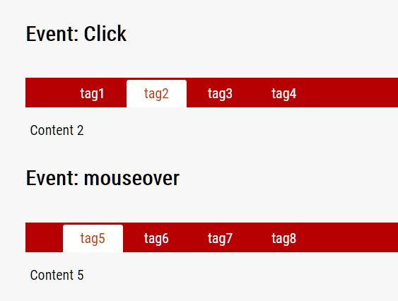 Easy Tab Switch Plugin For jQuery - Tabs.js