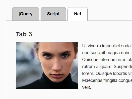 Minimal Tabbing System In jQuery - Tabs.js