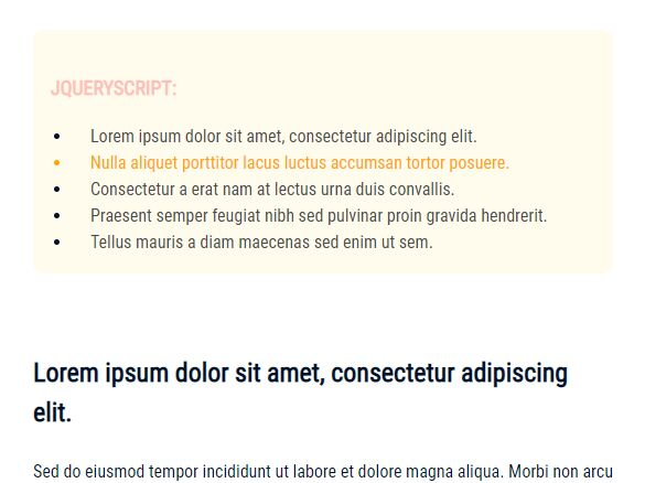 Auto Add Table Of Contents To Long Document Using jQuery