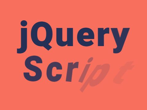 Configurable Text Flip Effect With jQuery - TextyleFLIP.js