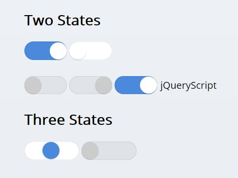 Three States Toggle Switch With jQuery - jQuery jToggler