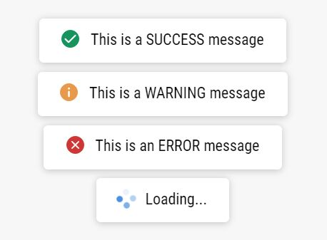 Clean Toast-like Alert Messages In jQuery - kk-message