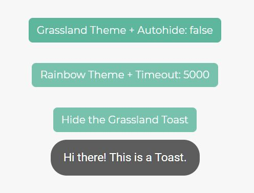 Create Toast Messages Like Android - toastr.js