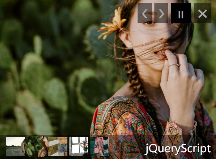 Responsive Slideshow With 6 Transitions - jQuery mixSlide