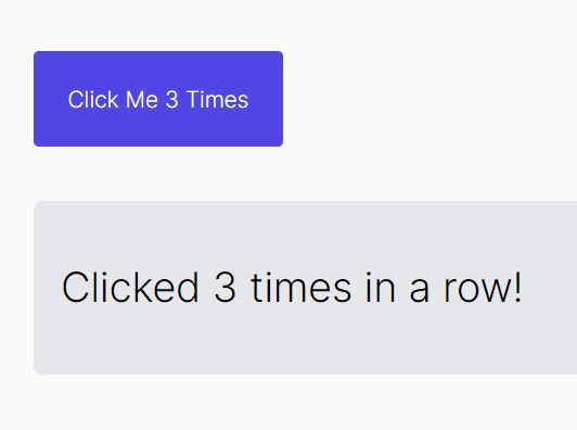Trigger An Event When Clicking X Times - xclick