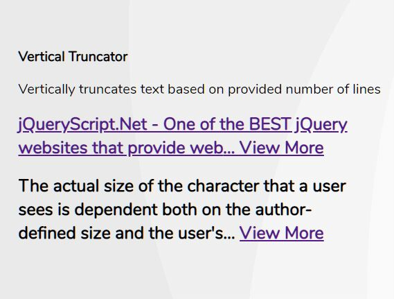 Trim Text To Specified Number Of Lines - Vertical Truncator