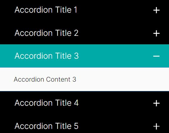 Minimal Vertical Accordion Menu With jQuery And CSS3