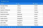 AJAX Based CRUD Table Plugin For jQuery - jtable