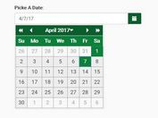Accessible Data Picker Plugin For Bootstrap - ab-datepicker