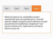 Accessible Responsive jQuery Tabs Plugin - Skeletabs