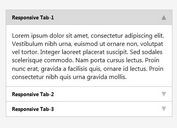 Accordion Like Content Tabs Plugin with jQuery - Easy Responsive Tabs